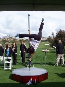 Stripper Pole Rentals on the Tenth Hole Monarch Golf Resort Dana Point, CA