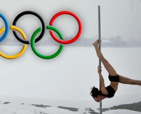 pole dance in olympics