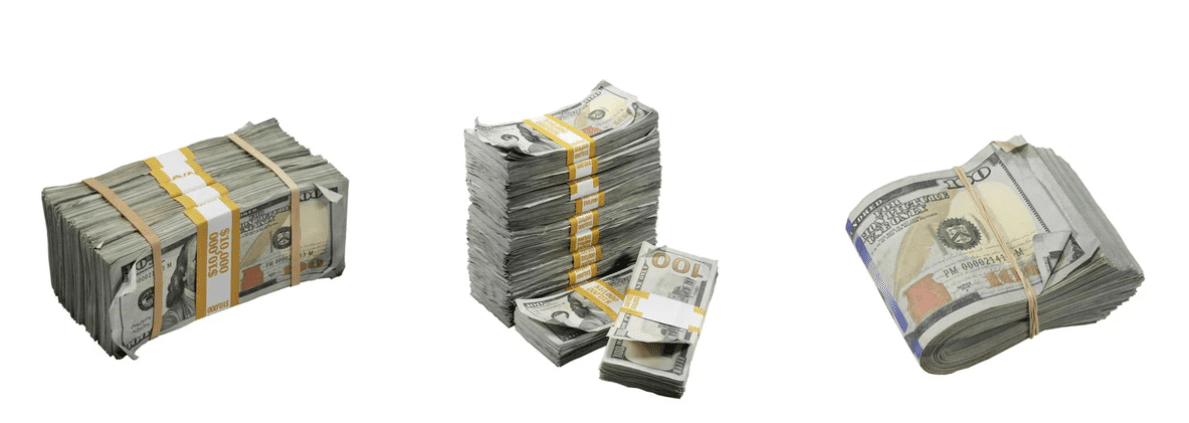 all star stages prop movie money
