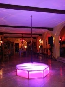 Renting Stripper Poles for Your Bachelorette Party