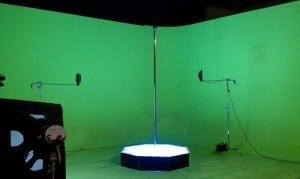 Stripper Pole Rental Los Angeles for TV Commercial with All Star Stages