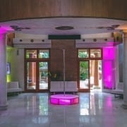 Another look at a great All Star Stages pink delight in the foyer